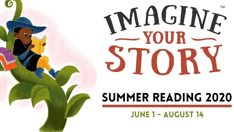 Summer Reading 2020 Imagine Your Story
