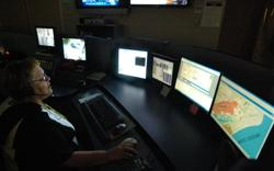 Communications Division - Dispatcher working at several computers