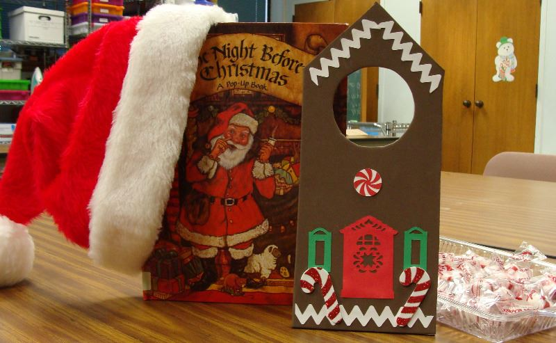 Storytime book and craft for Christmas 2017