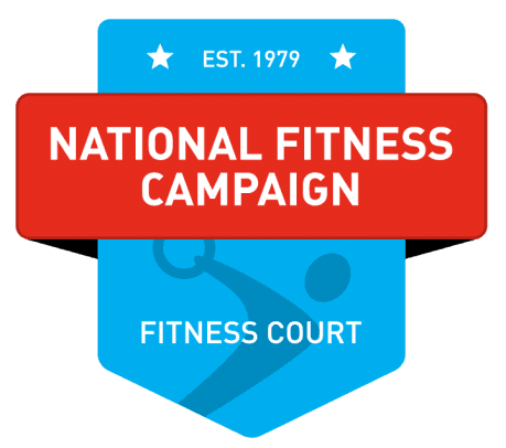 the company logo for the National Fitness Campaign