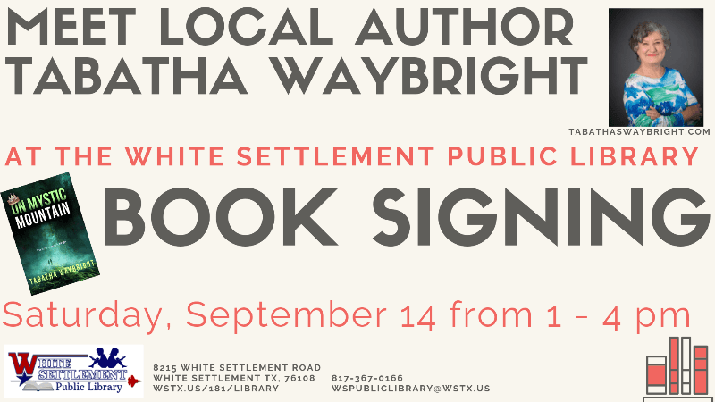 Tabatha Waybright Book Signing