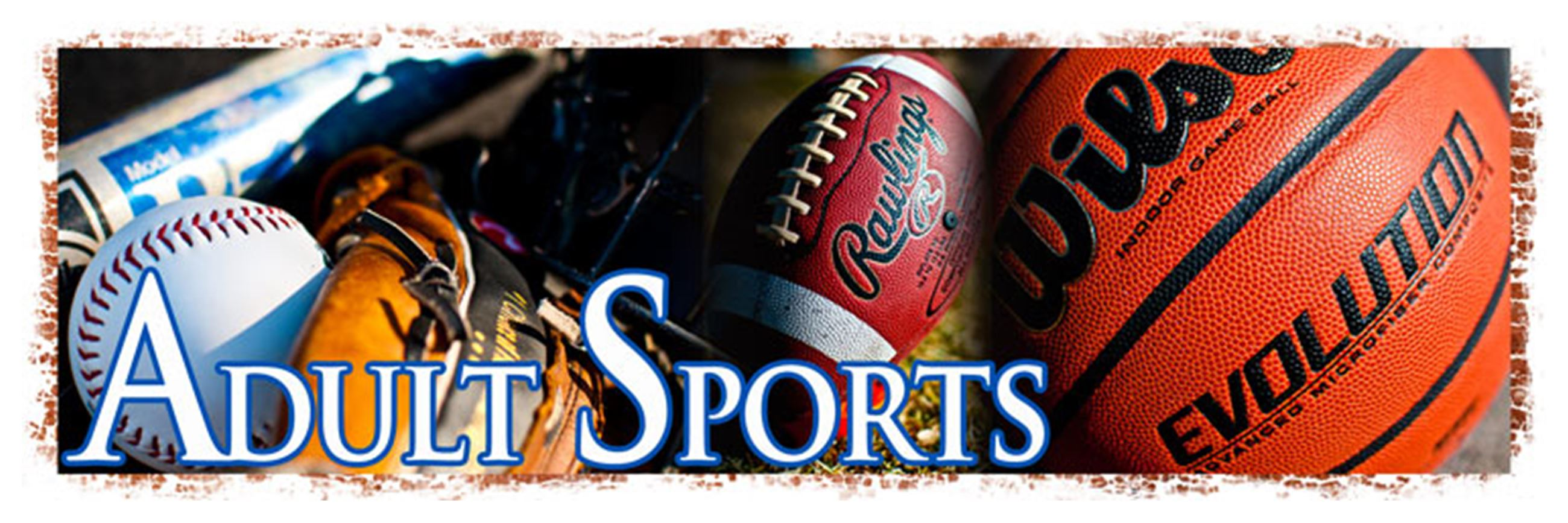 Adult Sports - Banner