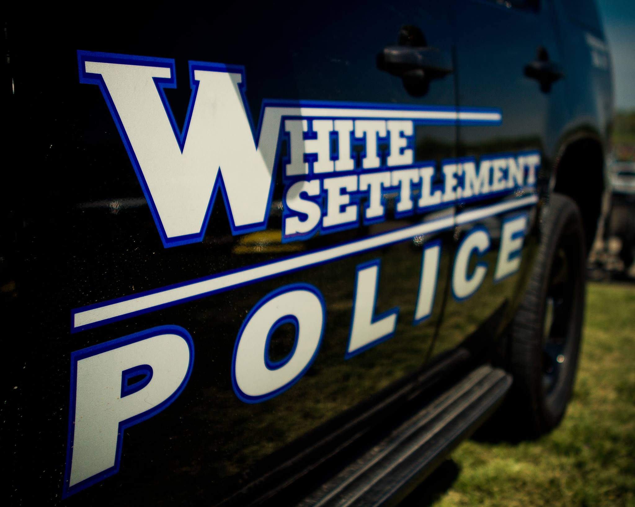 White Settlement Police Car Door